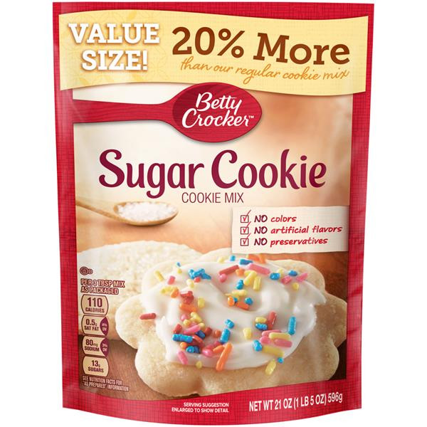 Betty Crocker Sugar Cookies  Betty Crocker Sugar Cookie Mix