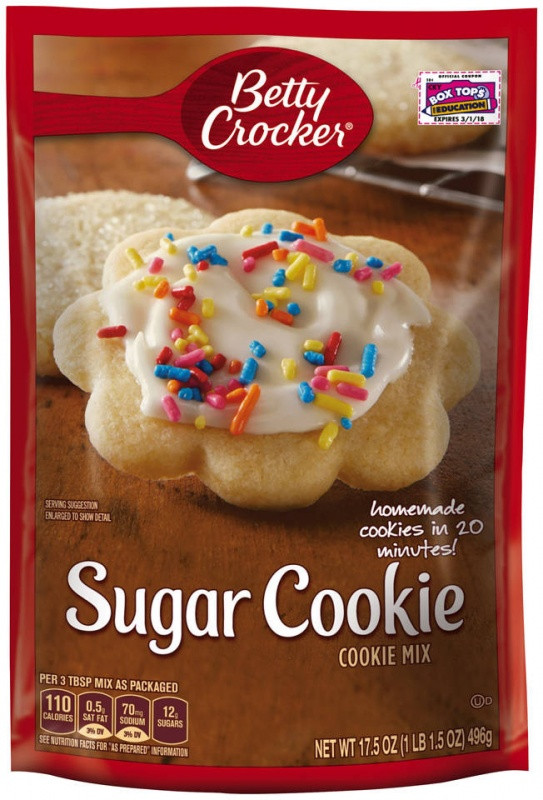 Betty Crocker Sugar Cookies  Betty Crocker Sugar Cookie Mix 17 5oz 496g American Food