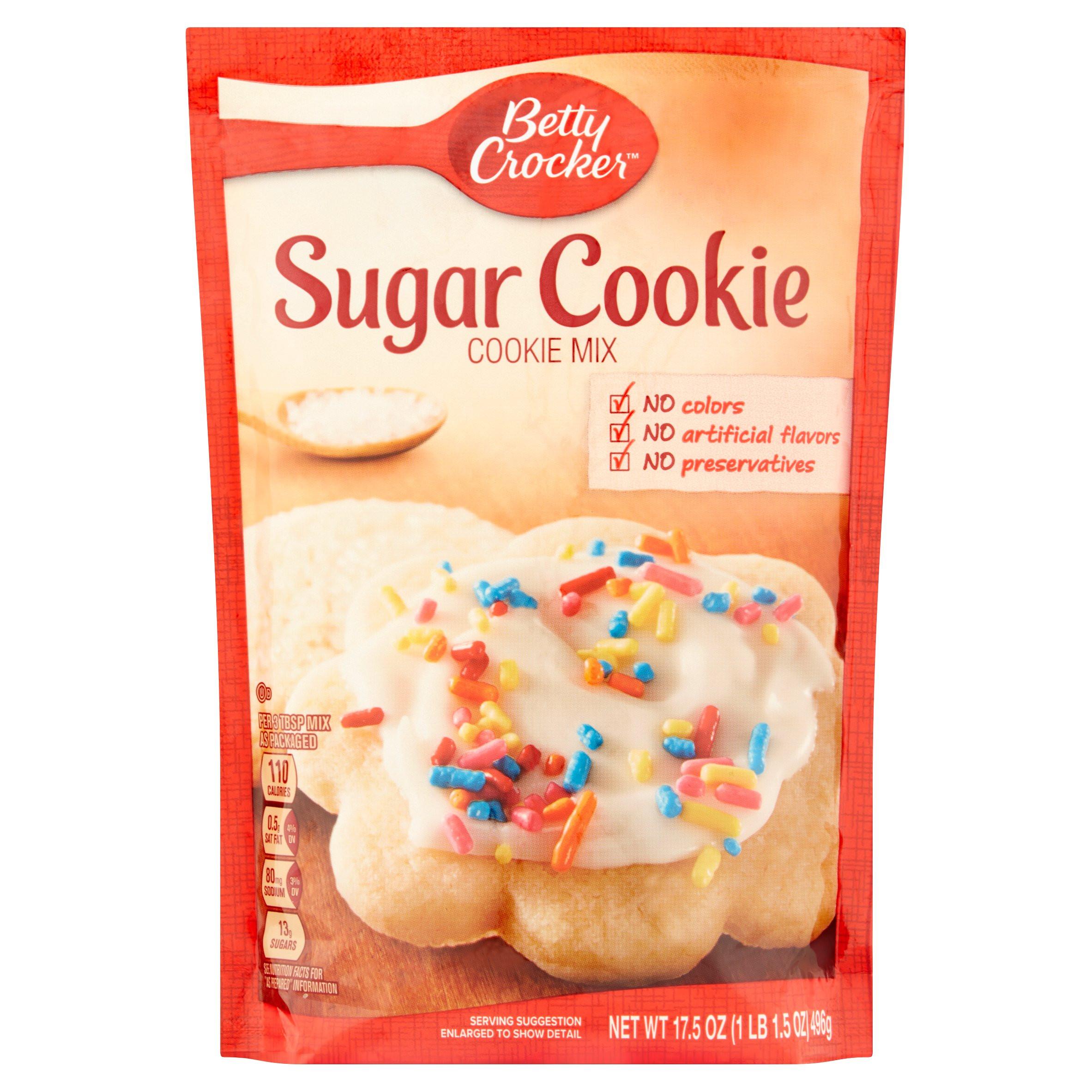 Betty Crocker Sugar Cookies  betty crocker sugar cookie mix directions