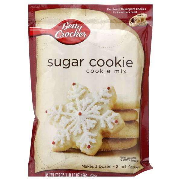 Betty Crocker Sugar Cookies  Betty Crocker Cookie Mix Sugar