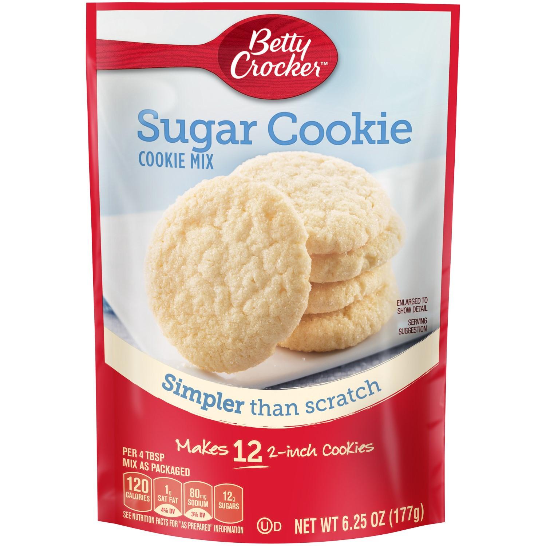 Betty Crocker Sugar Cookies  Betty Crocker Cookie Mix Sugar 6 25 Oz