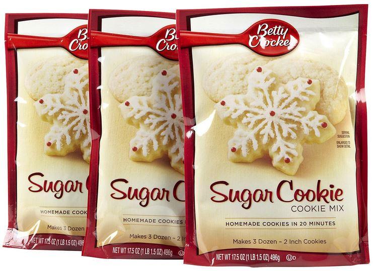 Betty Crocker Sugar Cookies  Free Sugar Cookie Mix Betty Crocker Members