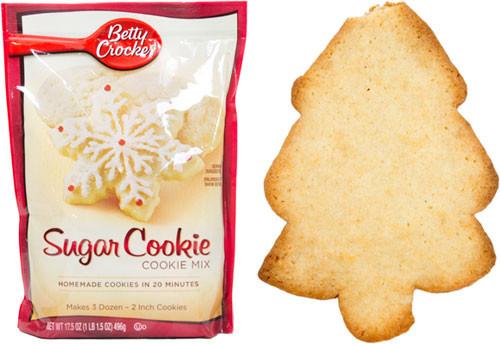 Betty Crocker Sugar Cookies  Taste Test Holiday Sugar Cookie Baking Mixes