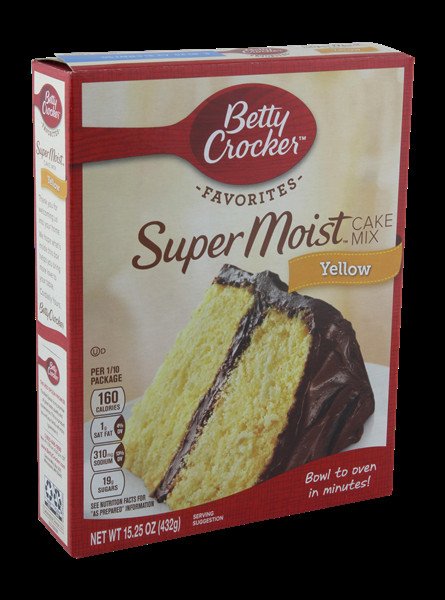 Betty Crocker Yellow Cake Mix  Betty Crocker Super Moist Yellow Cake Mix