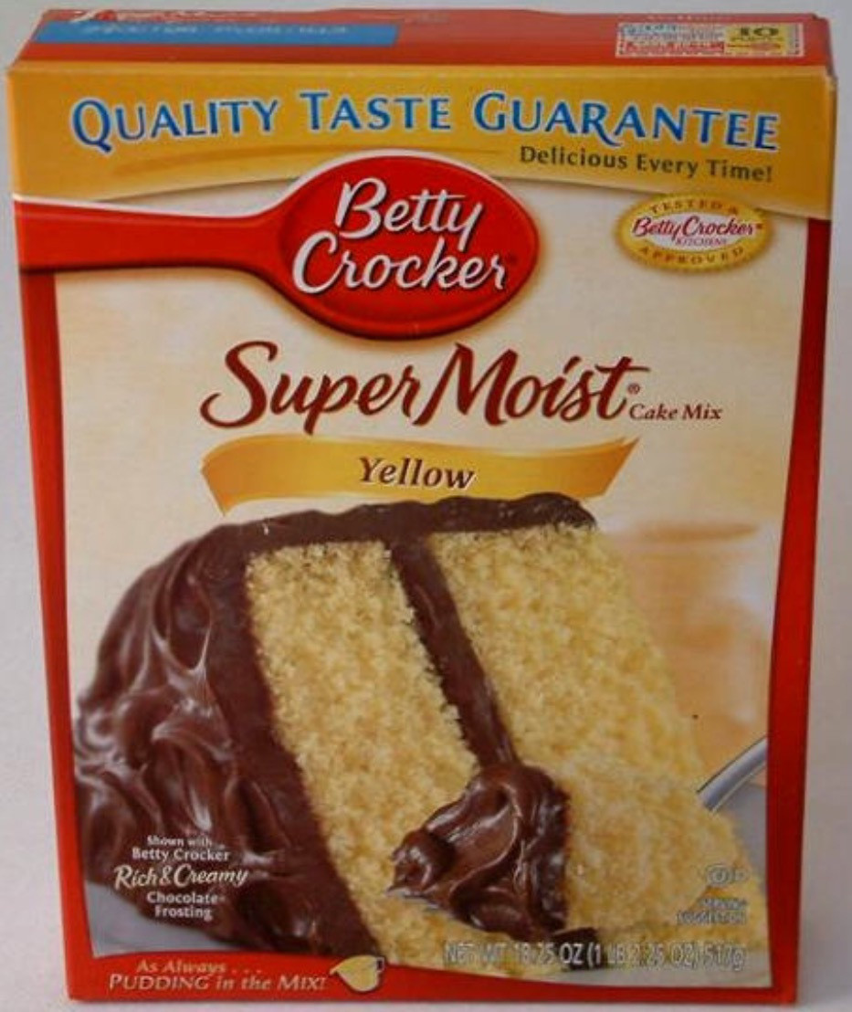 Betty Crocker Yellow Cake Mix  Betty Crocker super moist yellow cake mix reviews in