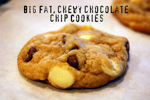 Big Fat Chewy Chocolate Chip Cookies  Chewy Chocolate Chip Cookies your homebased mom