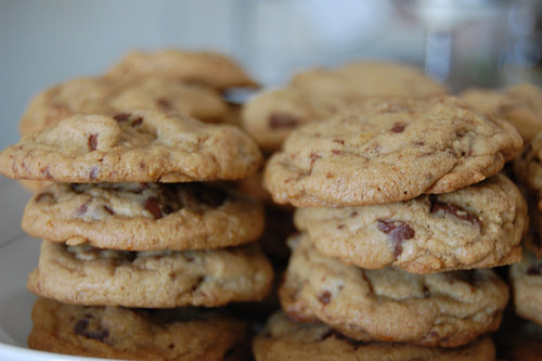 Big Fat Chewy Chocolate Chip Cookies  Heart of Light Big Fat Chewy Chocolate Chip Cookies