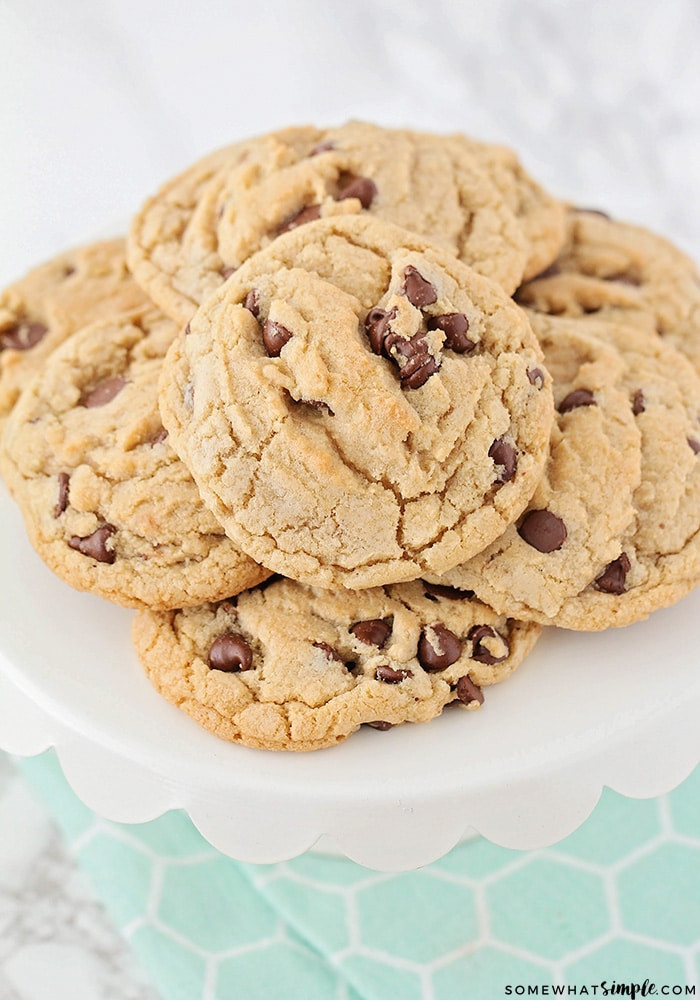 Big Fat Chewy Chocolate Chip Cookies  Big Fat Chewy Chocolate Chip Cookies Recipe