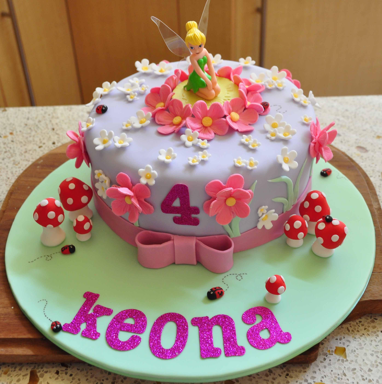 Birthday Cake Designs  Tinkerbell Cakes – Decoration Ideas