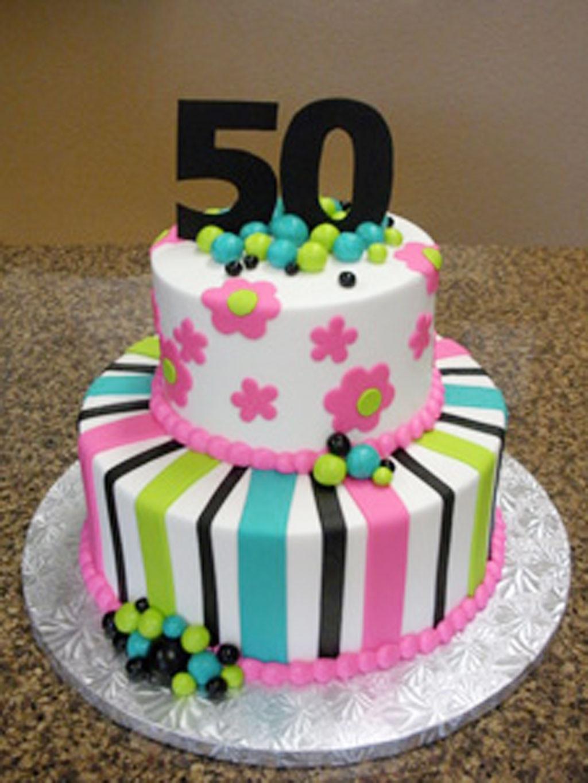 Birthday Cake Designs  50th Birthday Cakes For Women Birthday Cake