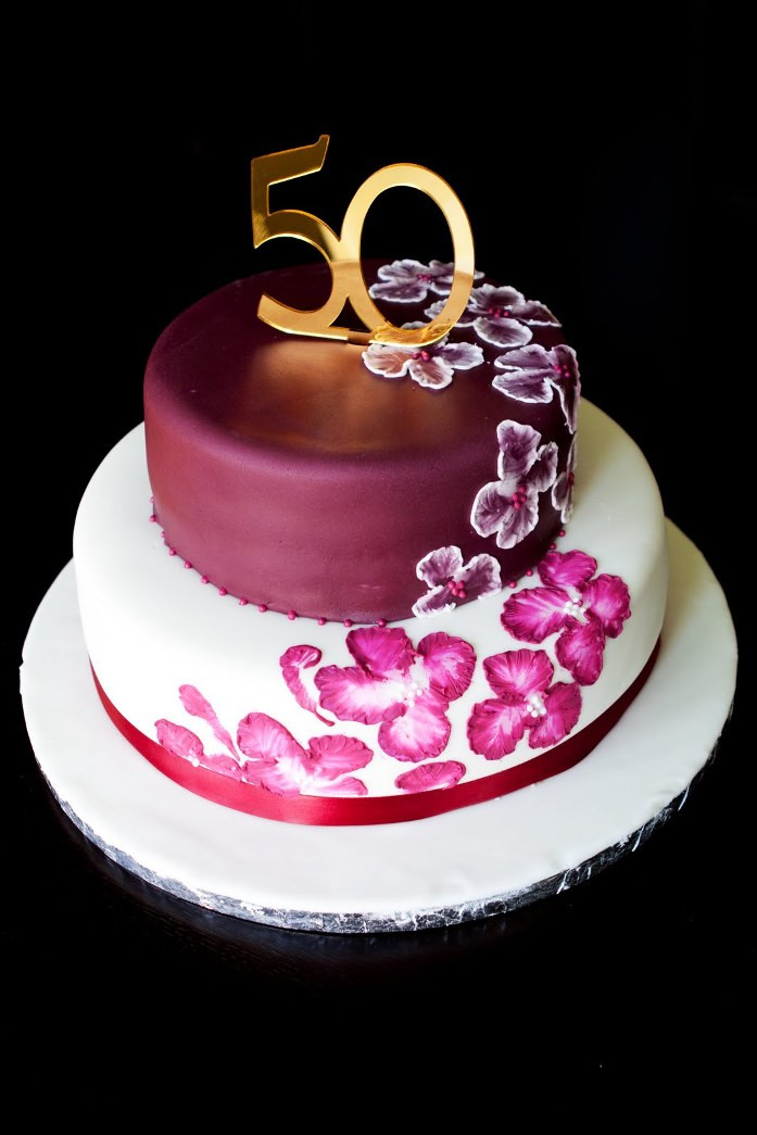 Birthday Cake Designs  50th birthday cakes for women Healthy Food Galerry