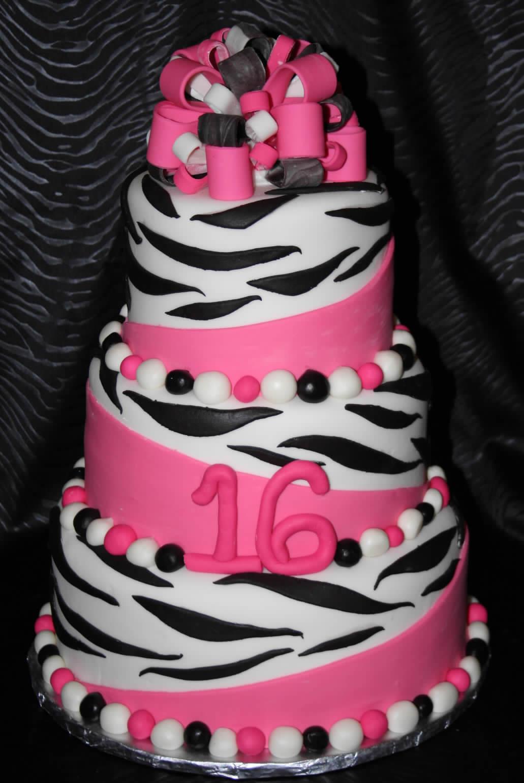 Birthday Cake Designs  Zebra Cakes – Decoration Ideas