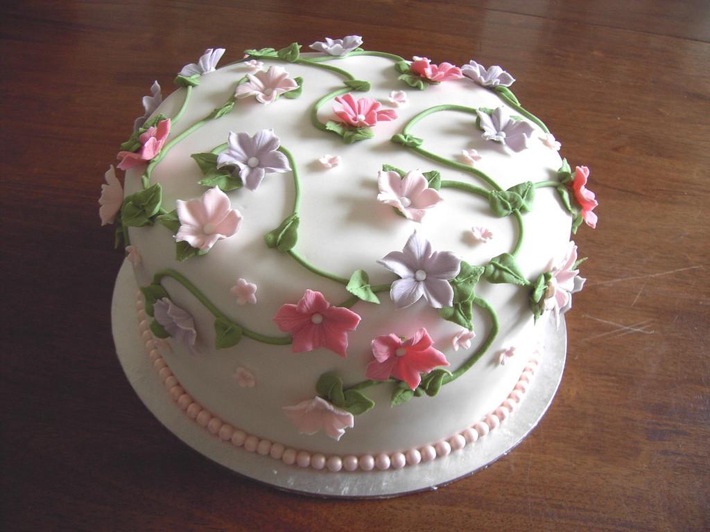 Birthday Cake Designs  Flower Cakes – Decoration Ideas