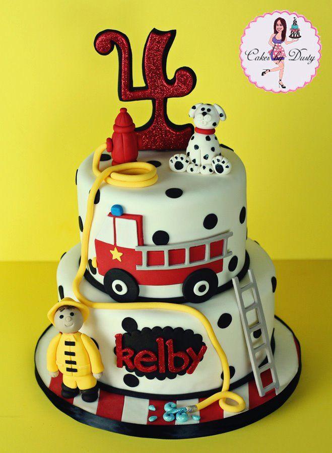 Birthday Cake Fire  Firefighter Birthday Cake Patrulha Canina