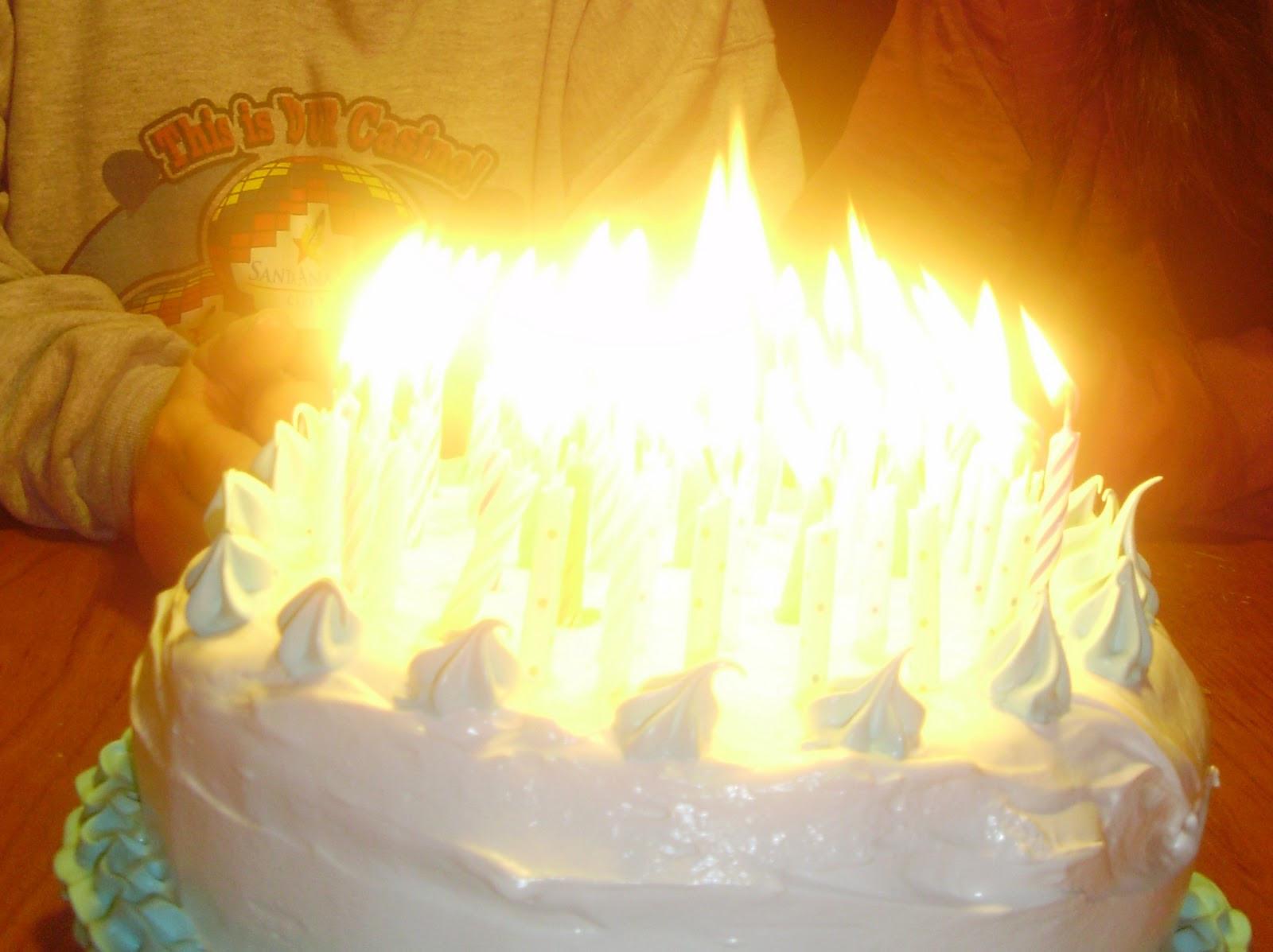 Birthday Cake Fire  If I Had a Hammer Birthday Cake