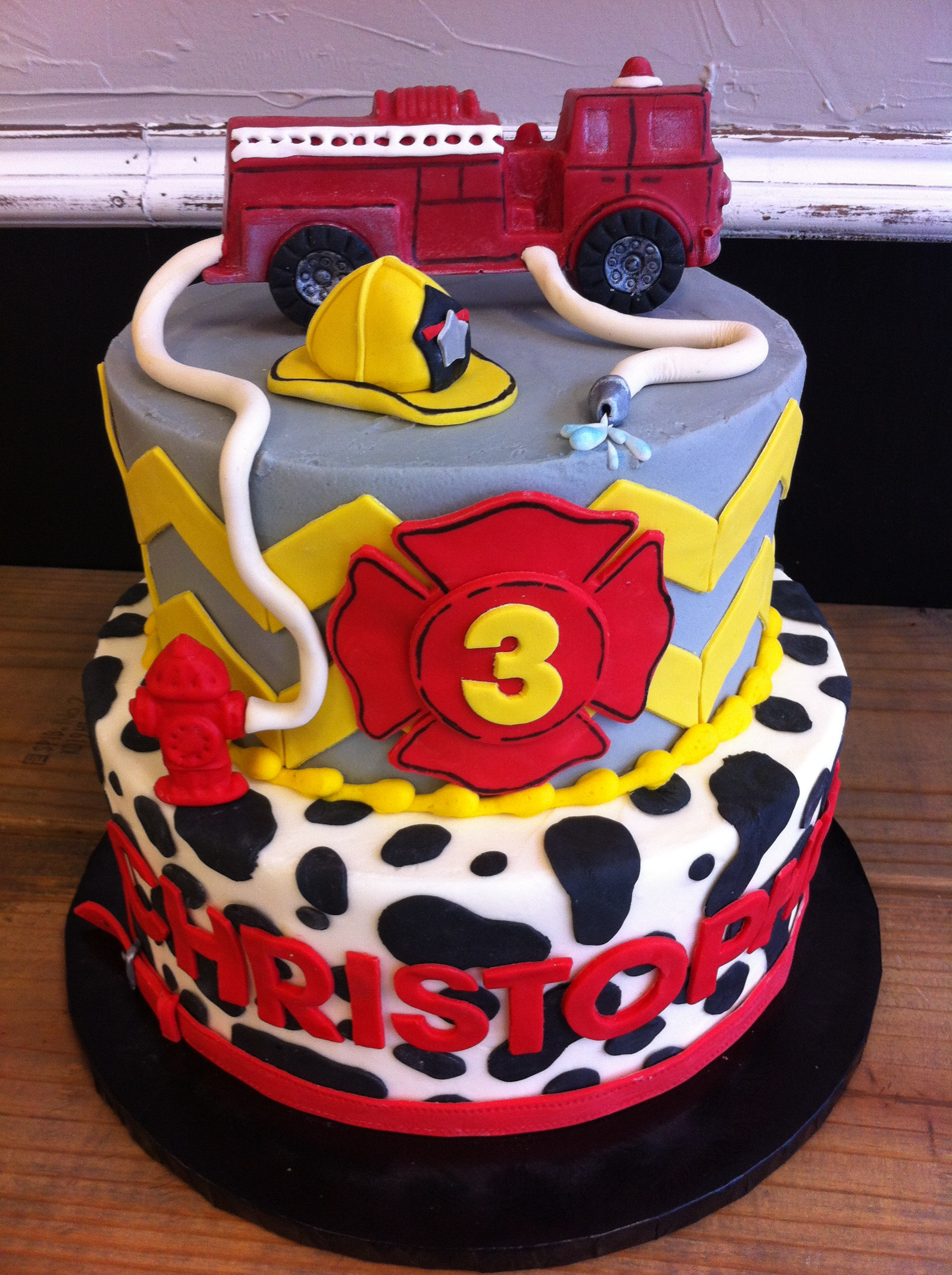 Birthday Cake Fire  Party cakes in McKinney and Dallas Texas