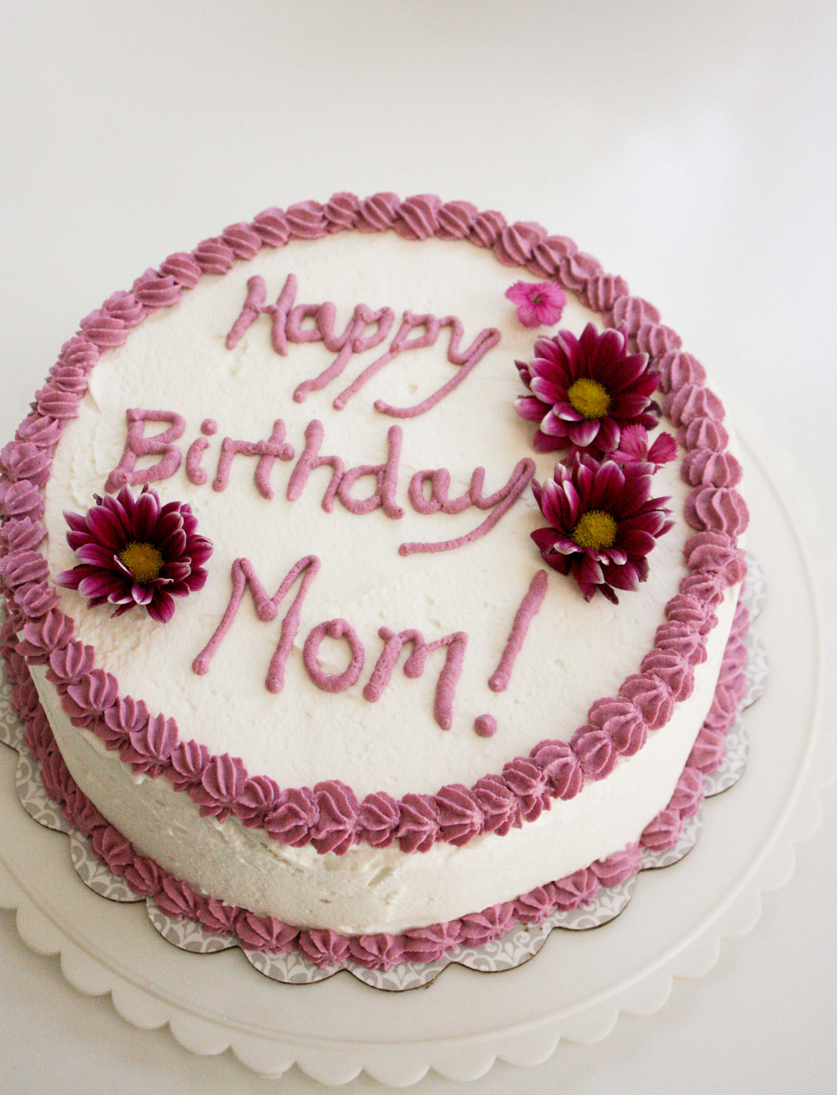 Birthday Cake For Mom  Banana Birthday Cake for My Mom – Foodologie