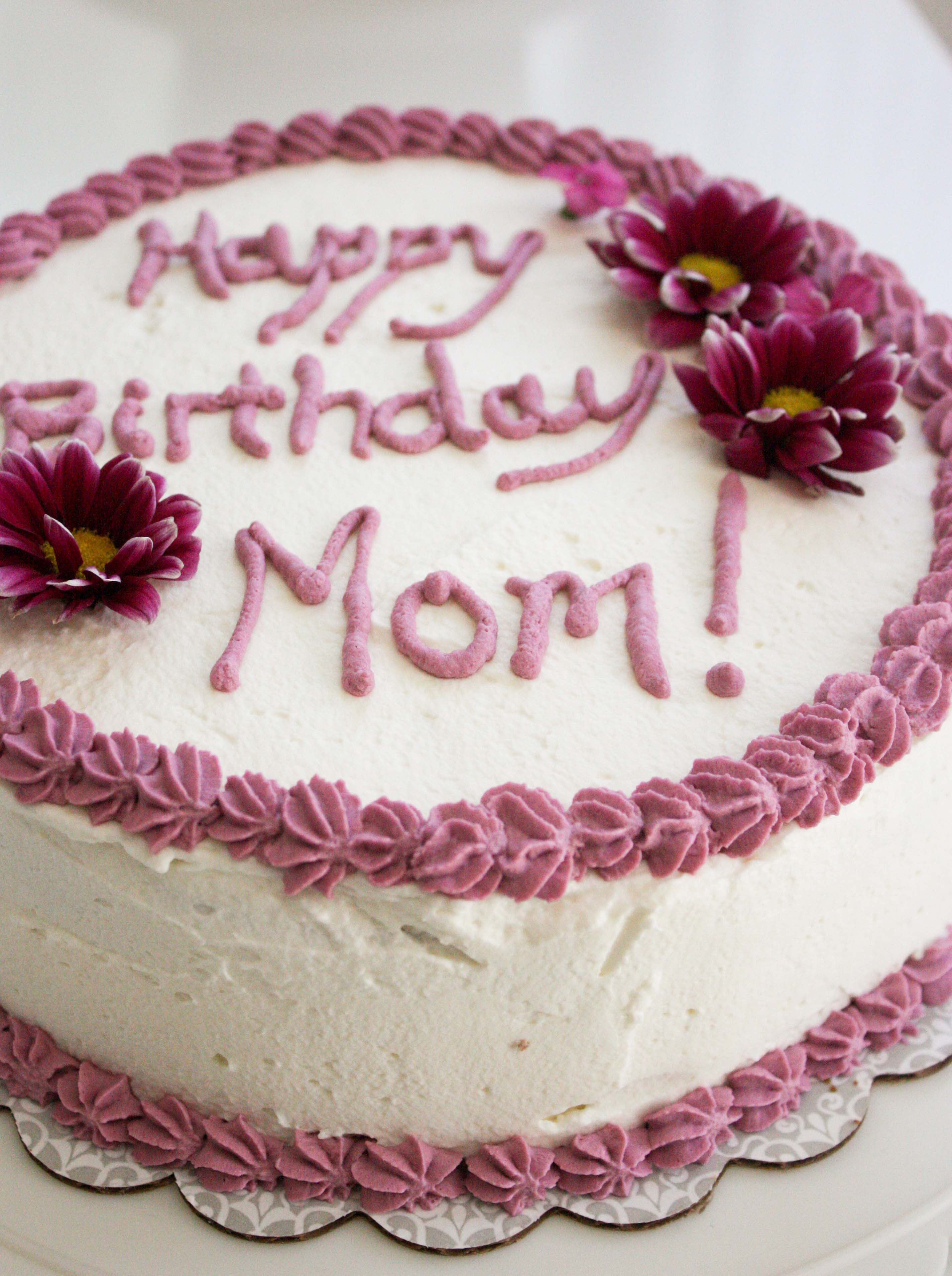 Birthday Cake For Mom  Happy birthday mom quotes and wishes