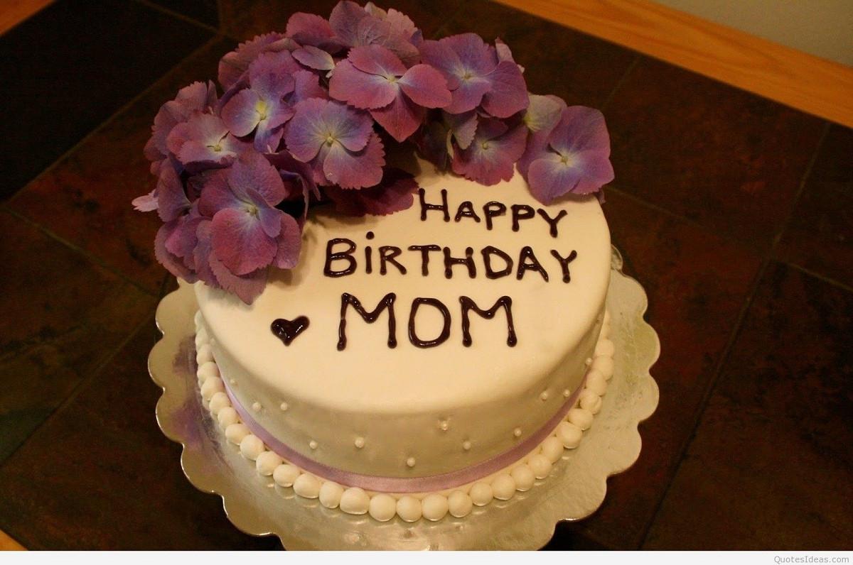 Birthday Cake For Mom  Happy Birthday Cake For Mom & Wallpaper
