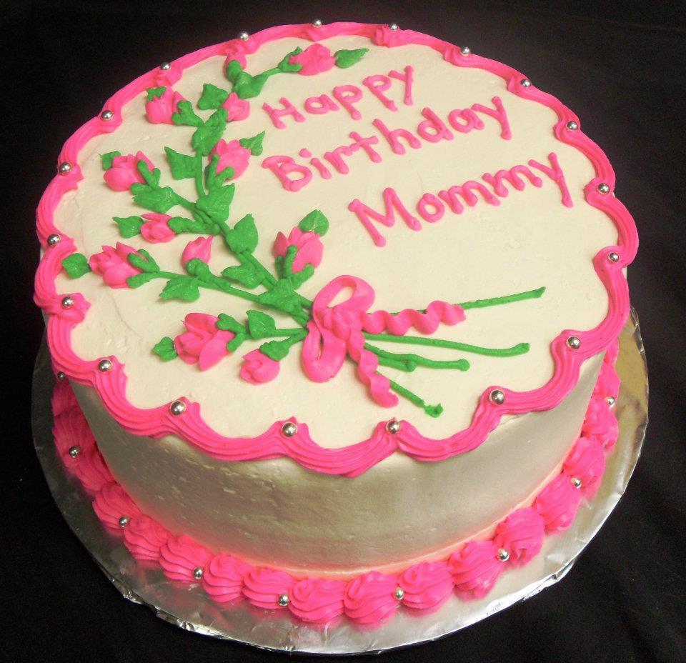 Birthday Cake For Mom  Birthday Cake For Mom CAKE DESIGN