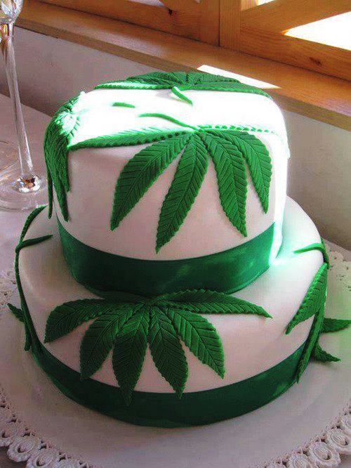 Birthday Cake Kush  cannabis cake