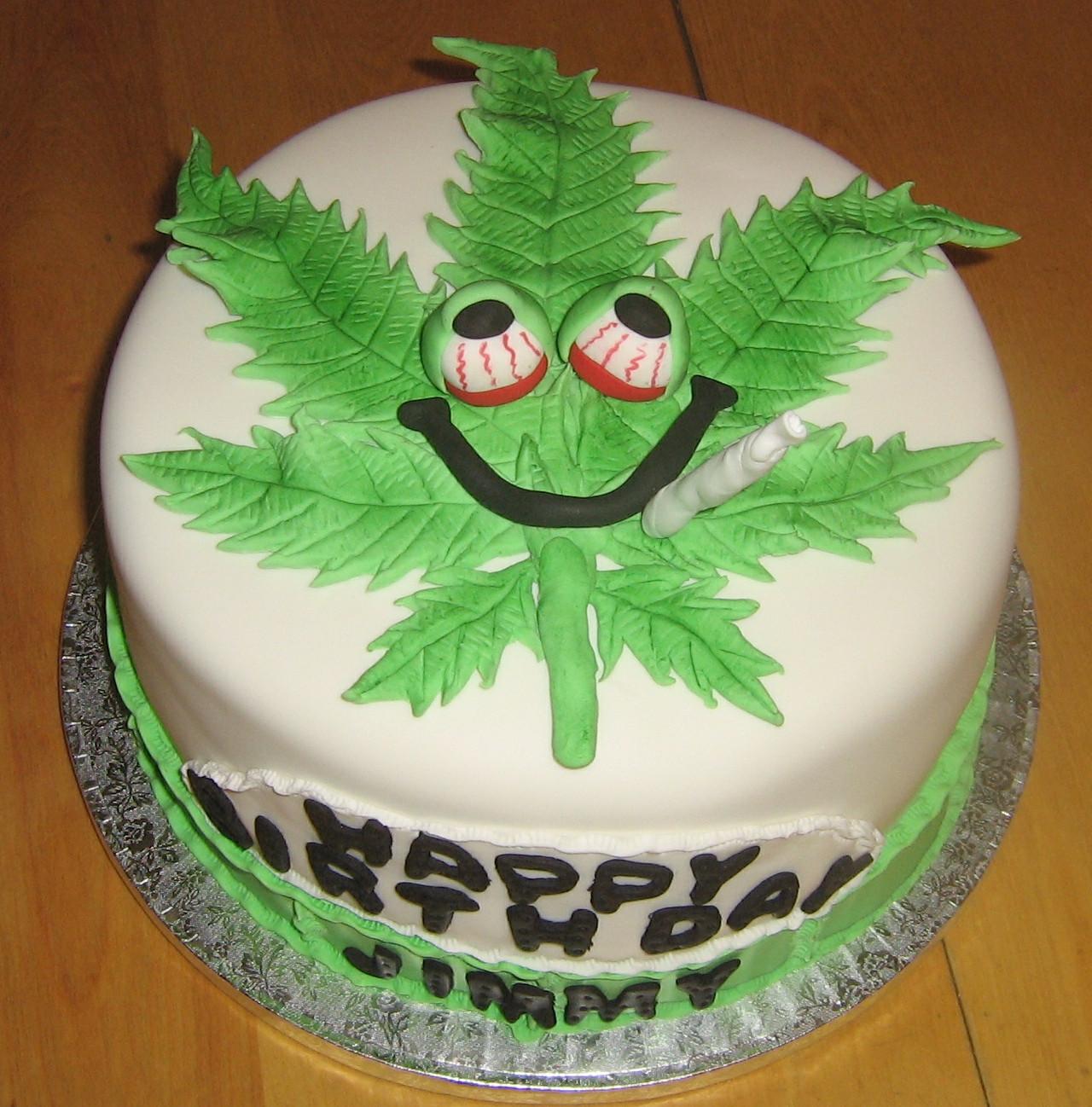 Birthday Cake Kush  Weed Cake