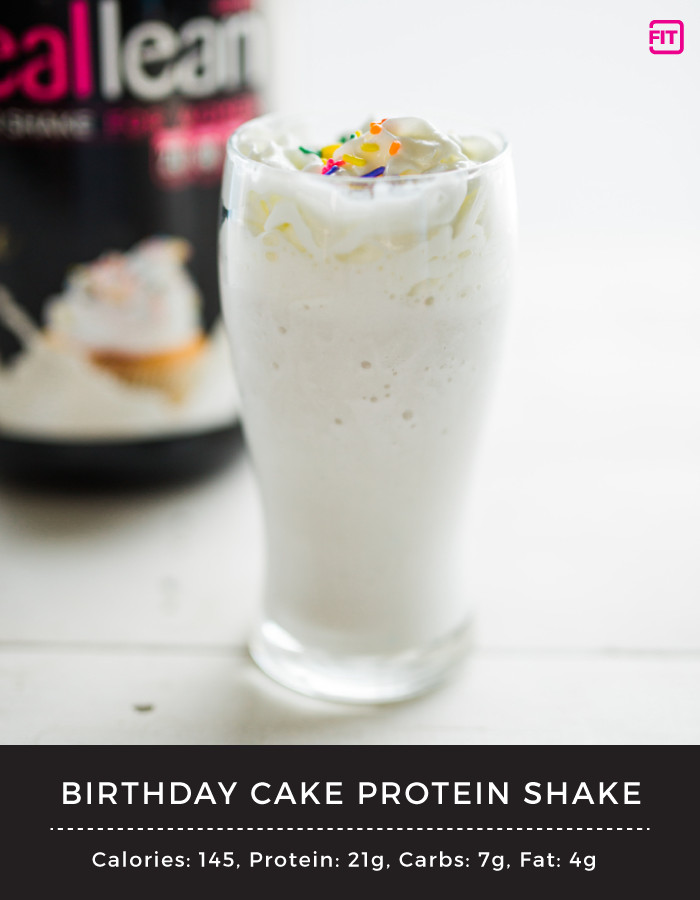 Birthday Cake Protein Powder  Birthday Cake Protein Shake