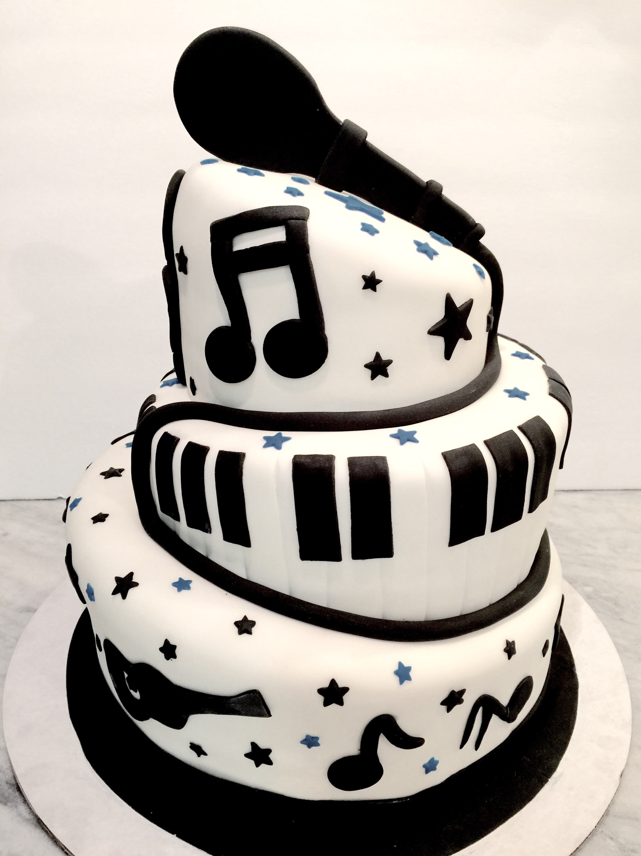 Birthday Cake Song  Music Cake – Dani Cakes Savannah