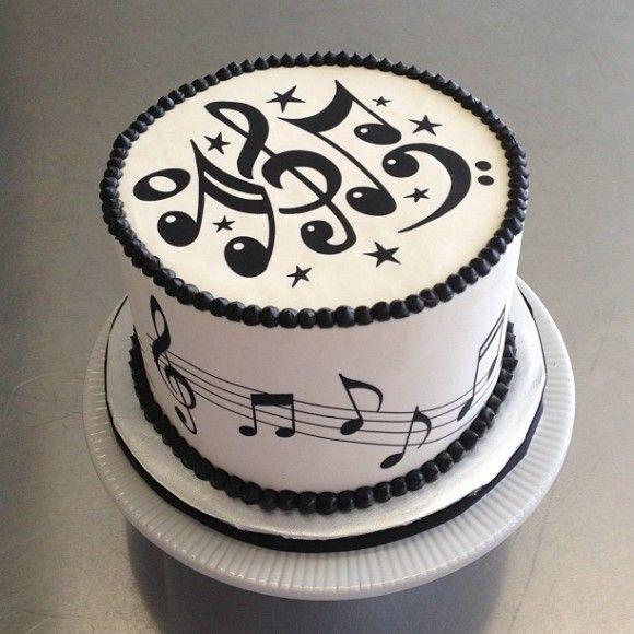 Birthday Cake Song  Music Cake Musik Torte Pinterest