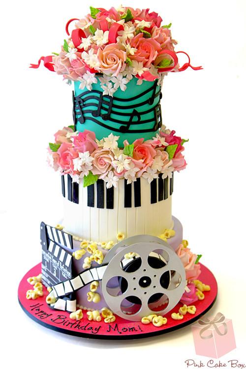 Birthday Cake Song  Musical Themed Birthday Cake Birthday Cakes