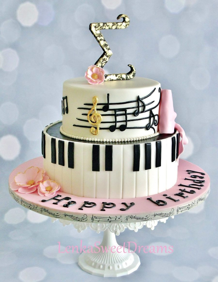 Birthday Cake Song  Piano Music Cake CakeCentral