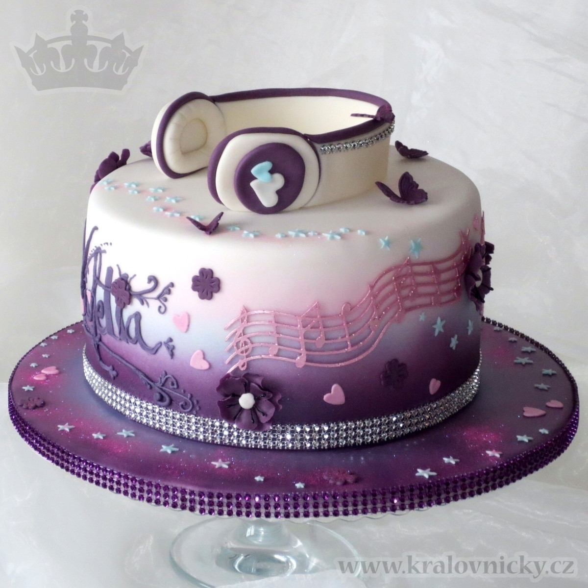 Birthday Cake Song  Violetta Music Star CakeCentral