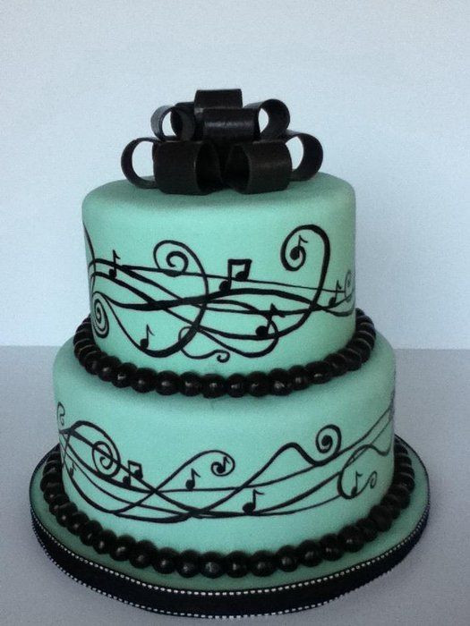 Birthday Cake Song  Best 25 Music birthday cakes ideas on Pinterest