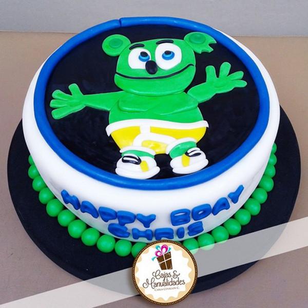 Birthday Cake Song  Gummibär fan Chris Birthday Cake Gummibär