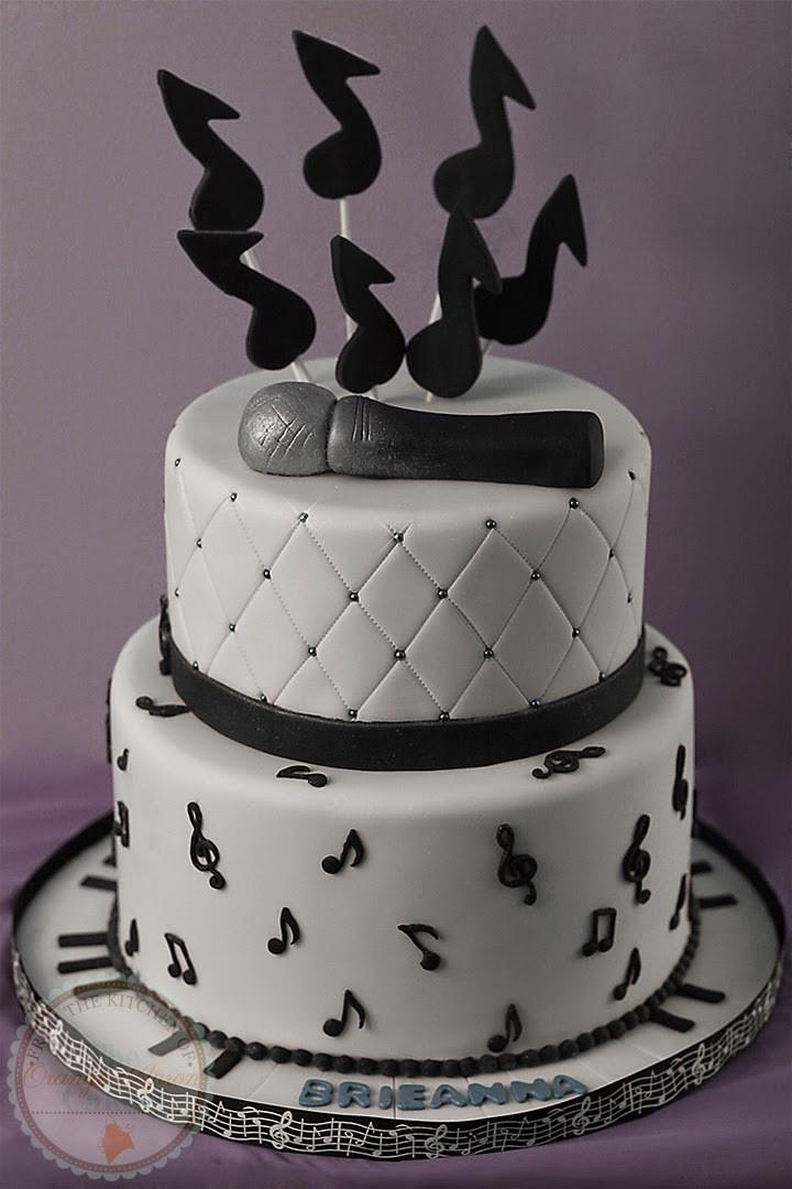 Birthday Cake Song  The Orange Apron Cakery Happy Birthday Brieanna
