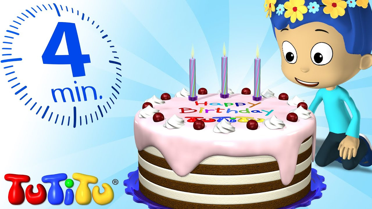 Birthday Cake Song  TuTiTu Specials Happy Birthday Cake