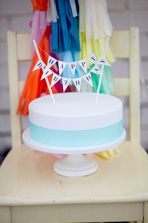 Birthday Cake Toppers  Happy Birthday Cake Topper