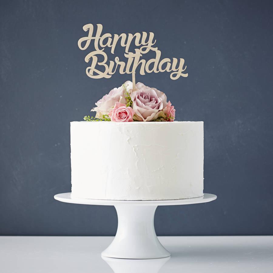 Birthday Cake Toppers  personalised birthday cake topper by sophia victoria joy