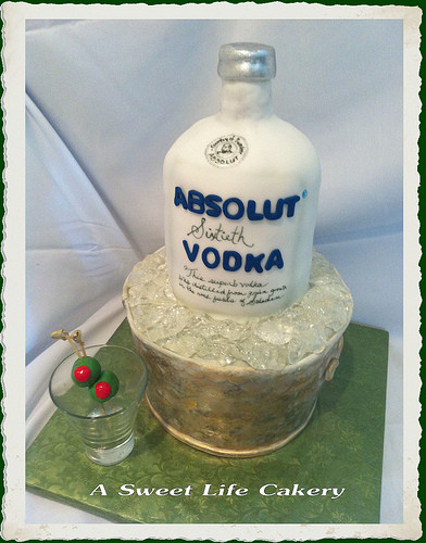 Birthday Cake Vodka  Absolut 60th Birthday Cake