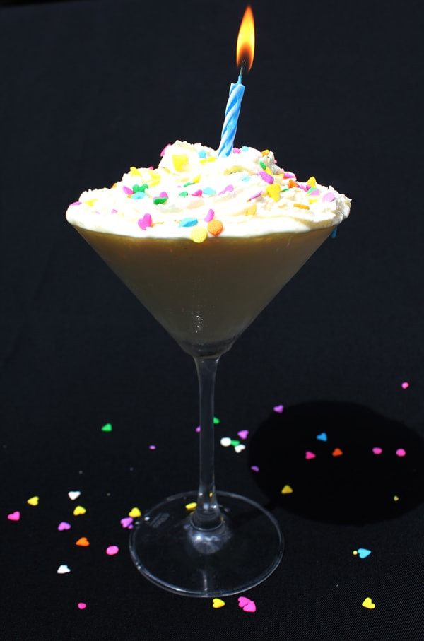 Birthday Cake Vodka  Birthday Martini Beverage