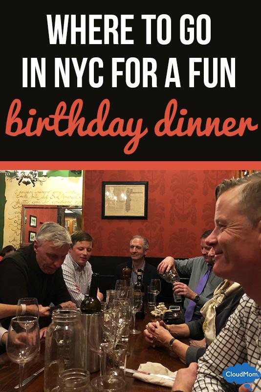 Birthday Dinner Nyc  Fun Birthday Dinner in NYC