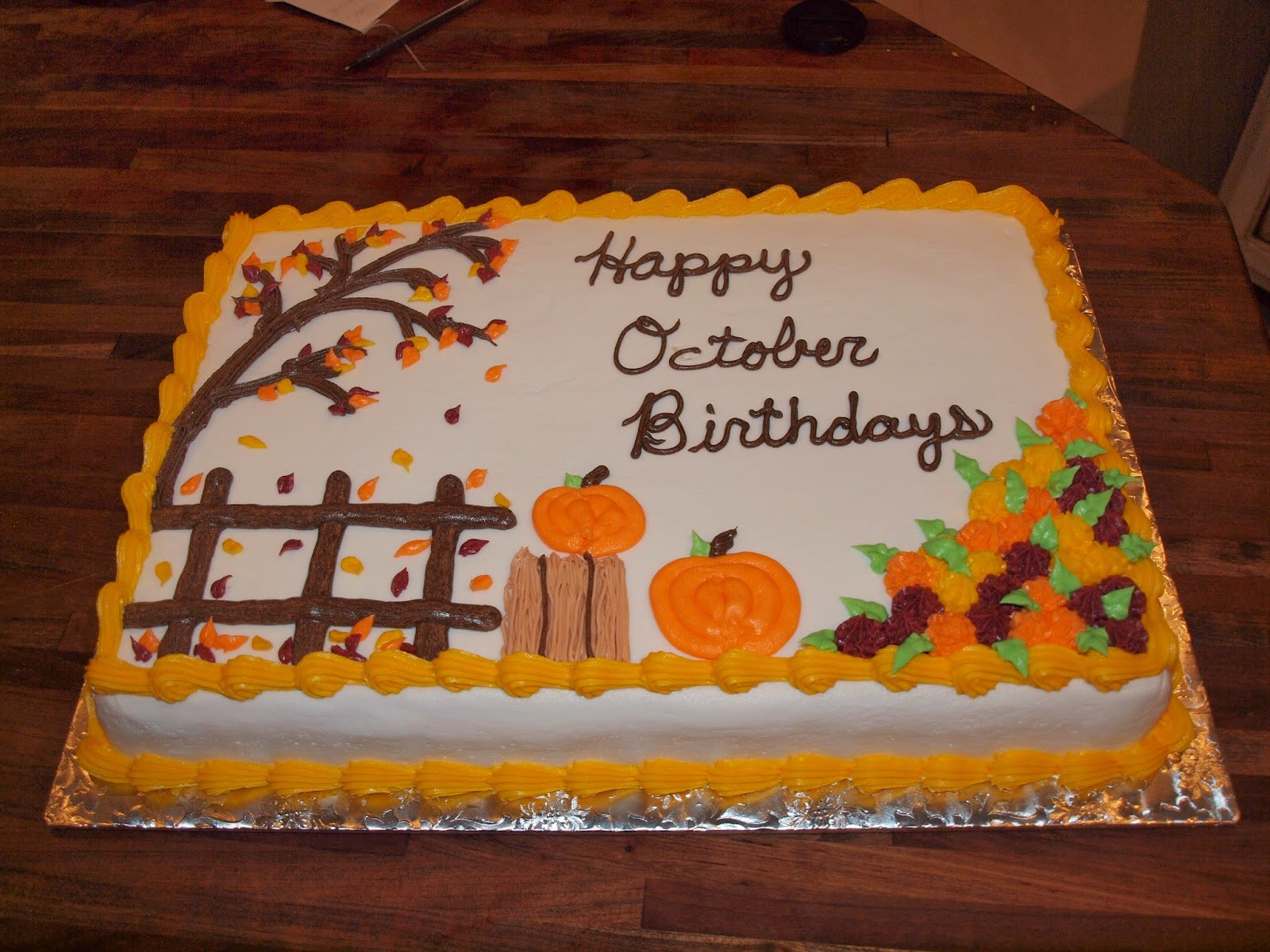 Birthday Sheet Cake  Halloween Themed Sheet Cake Ideas – Fun for Christmas