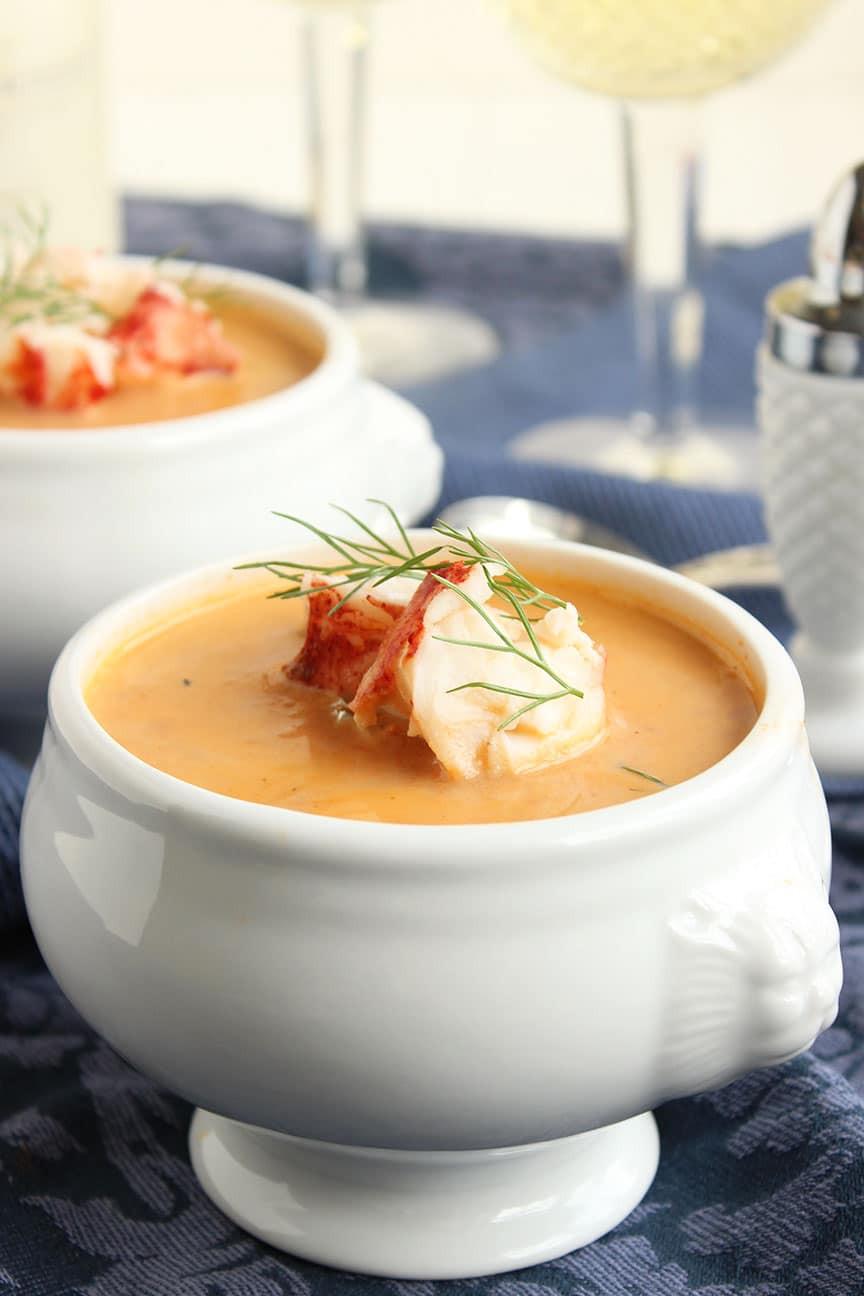 Bisque Vs Soup  lobster bisque calories