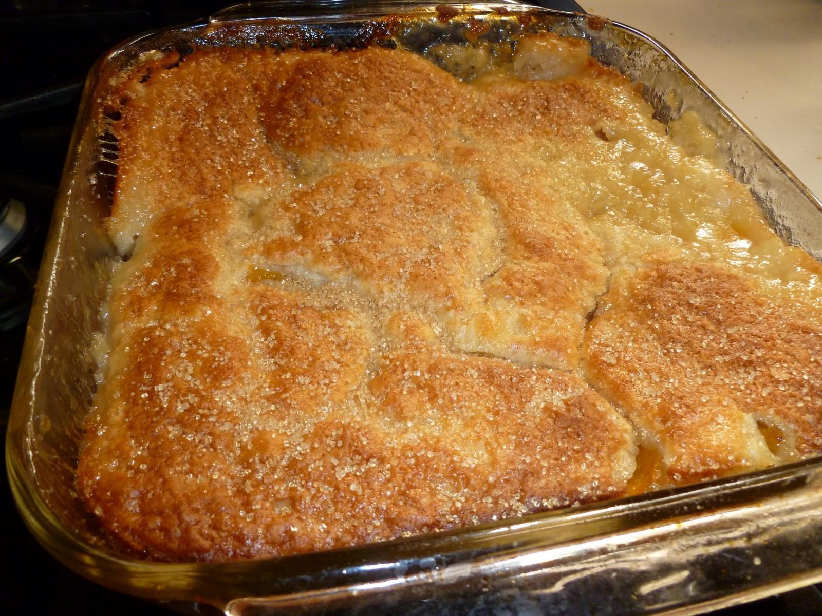 Bisquick Apple Cobbler  Apple cobbler easy bisquick