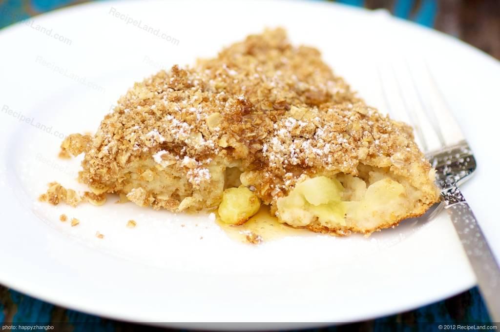 Bisquick Apple Cobbler  Apple Crisp Oven Pancake Bisquick Recipe