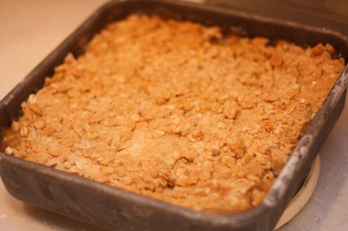 Bisquick Apple Cobbler  bisquick apple cobbler with pie filling