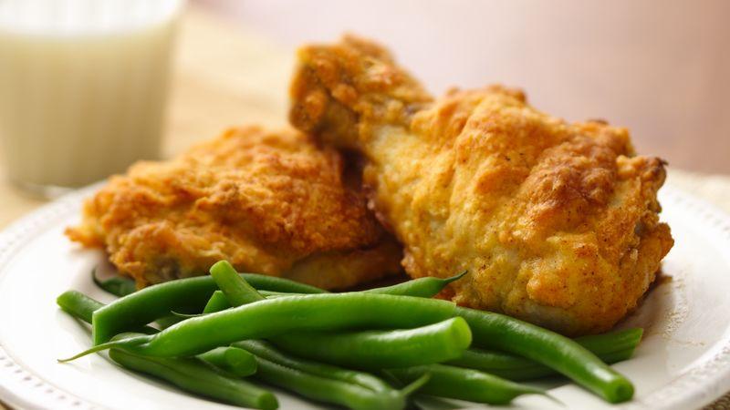 Bisquick Baked Chicken  bisquick oven fried chicken tenders