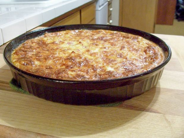 Bisquick Breakfast Recipes  Bisquick Quiche with Ham and Parmesan Cheese