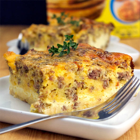 Bisquick Breakfast Recipes  bisquick sausage egg and cheese casserole recipes