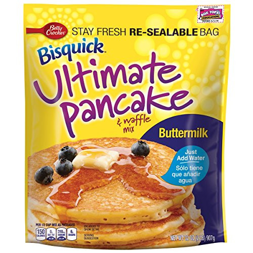 Bisquick Buttermilk Pancakes  Betty Crocker Baking Bisquick Buttermilk Ultimate Pancake
